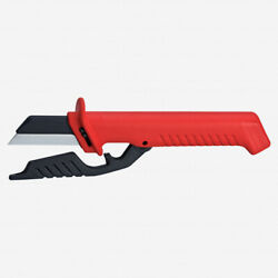 Knipex 98-56 Insulated Cable Knife W/ Replaceable Blade