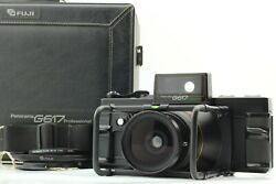 【mint Count026】 Fuji Fujifilm G617 Pro W/ Nd-2x Center Filter From Japan 1236