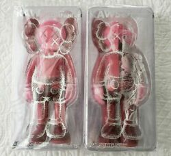Kaws Companion Flayed + Blush Set Red Toy 2019 Official Authentic Sold Out Vinyl