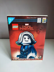Lego 77902 San Diego Comic-con Captain Marvel And The Asis Sample Mint Condition