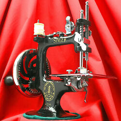 Singer 20 Child Toy Sewing Machine Sewhandy 20-1 Restored By 3fters