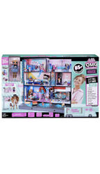 Lol Surprise Omg House Real Wood Doll House With 85+ Surprises Ages 8+