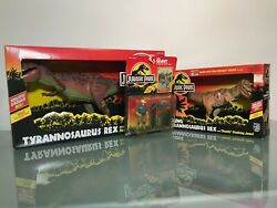Vintage 1993 Kenner Jurassic Park Toy Collection New In Box