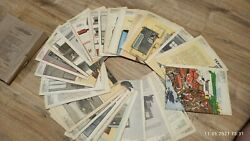 COLLECTION OF VINTAGE POSTERS OF THE USSR quot;STORAGE OF AGRICULTURAL MACHINERYquot;