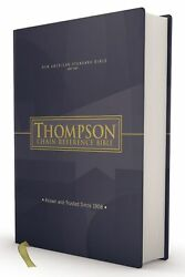Nasb 1977 Thompson Chain-reference Bible-hardcover
