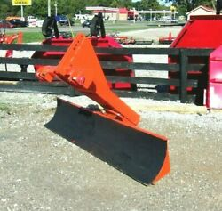 Used Kewanee 8 Ft. Tilt/angle Hd Grader Blade Free 1000 Mile Delivery From Ky