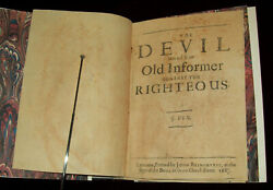 Very Rare 1682 George Fox Pamphlet Complete Quaker Society Of Friends, Bible