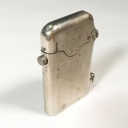 Vintage Automatic Petrol Lighter Thorens Single Claw Swiss Made C. 1920 Rare