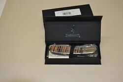 Browning 3220256 Visual Effects Tan Fosil Tooth Drop Point Linerlock Knife New