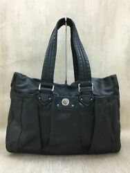 Secondhand Marc by Marc Jacobs Tote Bag Leather Black Marc Bag $159.56