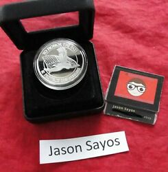 Military Honor The Past Protect The Future 1 Ounce Proof .999 Pure Silver Round