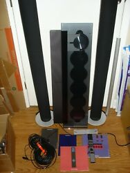 Bang And Olfeson Beosound 9000 And Beolab 8000 Speakers