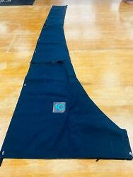 Mainsail Cover - Navy Sunbrella Waterproof Uv Resistant 13 Ft 6 Inches