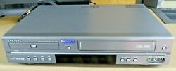 Samsung Vcr And Dvd Combo Player Dvd-v2000 Vhs No Remote Tested