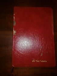 Holy Bible New American Standard Bible Nasb 1977 Edition Giant Print Tabbed Red