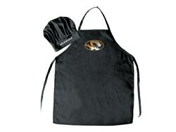 Missouri Mizzou Tigers College Apron And Chef Hat Set Bbq, Baking, Gifts + More