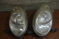 March Early Ak12 K12 Genuine Ichiko No Damage Headlight Halogen Left And Right