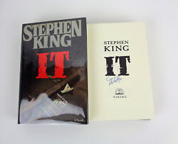 Stephen King Author Signed Autograph It 1st Edition/1st Printing Hardcover Book