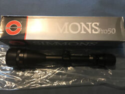 Simmons Pro50 Rifle Scope 4-12x50 Ao Model 8800 New Old Stock