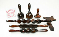 Wood Therapy/ Maderoterapia Colombiana Kit 7 Pc Body Sculpting Tools Weight Loss