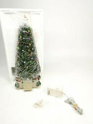 Lemax Village Collection Lighted Musical Christmas Tree 14660 As Is 3446