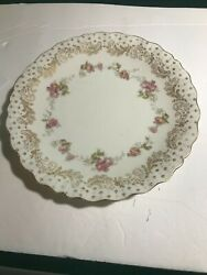 Two Vintage Small Plate From Bavaria Germany By Schumann 6 1/4 Inch