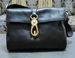Dooney amp; Bourke beautiful Mint Libby Hobo in color Black Florentine leather. $150.00