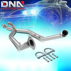 For 99-04 Mustang V8 2.5 Stainless 2-flange Shorty X-pipe Exhaust Hp Increase