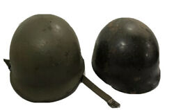 Original Us Wwii M1 Schlueter Helmet With Westinghouse Liner And Chinstrap