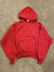 Yeezy X Gap Hoodie Large Red Yzy - In Hand And Ready To Ship