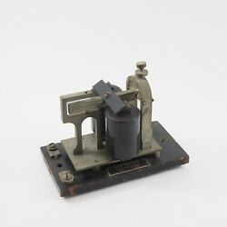Western Electric Telegraph Co Main Line Sounder 15-b 120-ohm /g