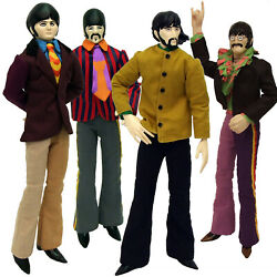 Beatles Collectible 2013 Yellow Submarine Band Member Set Of 12 Dolls / Figures