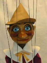 Pinocchio - Wooden Marionette, 16 Inches Tall, Handmade From Czech Republic