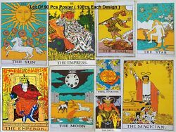Tarot Card Small Tapestry Cotton Poster Lot Of 90 Pcs Wholesale Price Beautiful