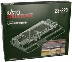 Kato N Scale Unitrack Rural Station Set From Japan