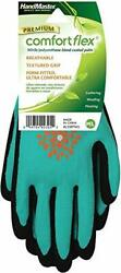 Magid Glove And Safety Al338tml-12 Gardening Gloves Womens Medium/large Black And...