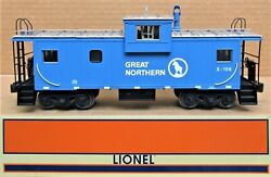 Lionel 6-17672 Great Northern Extended Vision Caboose W/smoke O-gauge Ln Tested
