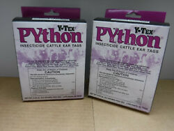 Y-tex Python 40 Count Insecticide Cattle Ear Tags