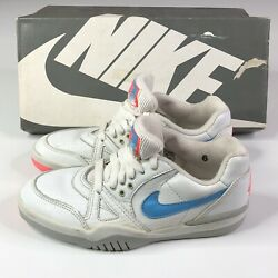 Vtg Nike Air Challenge Court Ii 2 80s Collectible Womens Size 6 Us Tennis Read