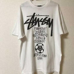 Rare Stussy Tshirt W Cup 2010 Commemorative World Tour Many Are On _276
