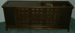 Vintage 1960's Mid Century Magnavox Irp633 Console Stereo Radio Record Player