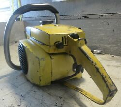 Vintage Collectible Mcculloch Mac 10-10 Automatic Chainsaw With 16 Bar