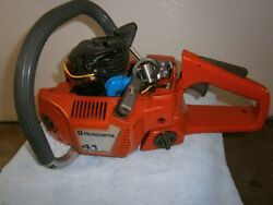 Husqvarna 41 Chainsaw Handle Tank Coil Starter Pull Rope Parts Saw