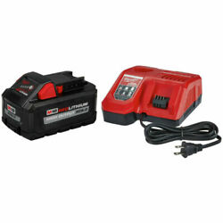 Milwaukee M18 Xc8.0 18 Volt 8 Ah Lithium-ion Battery And Charger Starter Kit