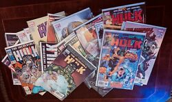 Lot Of 25 Different Incredible Hulk Comic Books. All Vf/nm Some Key Issues