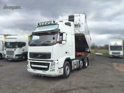 To Fit Volvo Fm Series 2and3 Globetrotter Xl Truck Roof Bar + Spot + Beacon + Horn