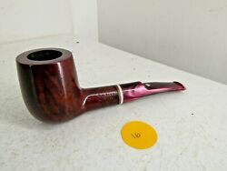 Vintage Stefano Exclusive Selected Briar 360 Wooden Pipe Plastic Mouth Piece H22