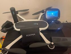 Gopro Karma Drone With Hero7 Camera With Backpack Case - Black/white