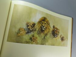 David Shepherd Paintings Of Africa And India 1978 Signed Limited Edition 300/506
