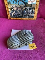 Triumph Mpd 650 Finned Primary Cover Ribbed Vintage Chopper Motor Engine Side